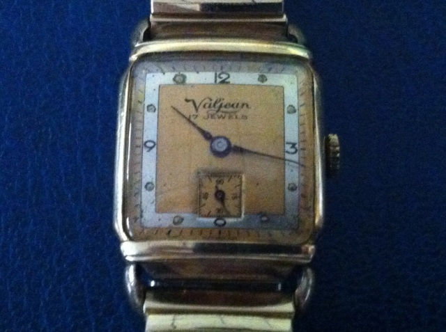 Valjean Avalon Watch With An Amazing Art Deco Dial And